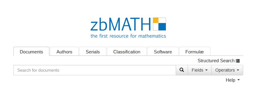 zbMATH