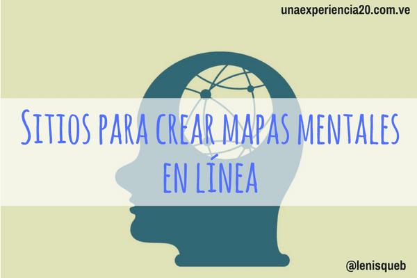 Mejores sitios para crear mapas mentales en línea
