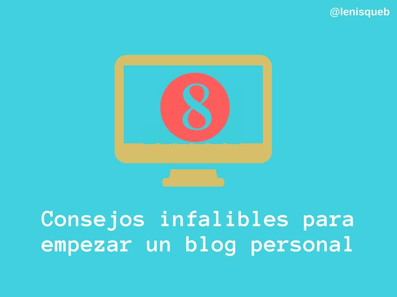 Consejos para empezar un blog personal