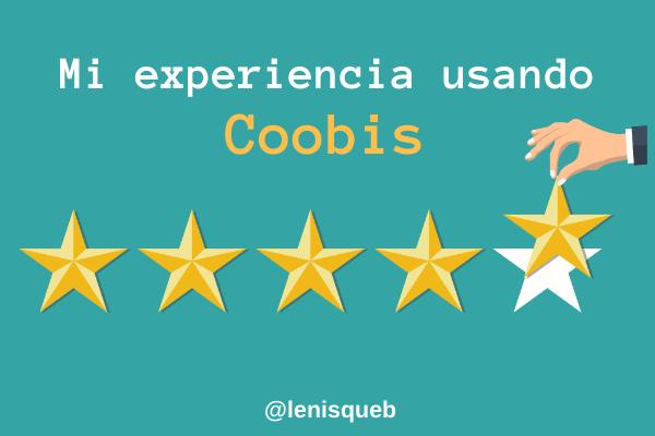 Mi experiencia usando Coobis